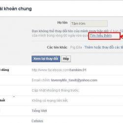 Hướng dẫn bạn cách đổi tên facebook